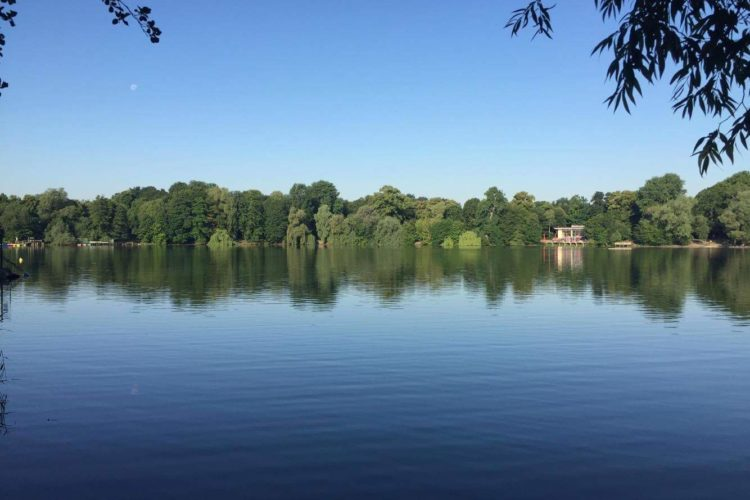 Berlin's Weisser see Lake
