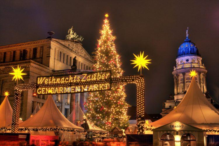 Winter market at Gendarmenmarkt