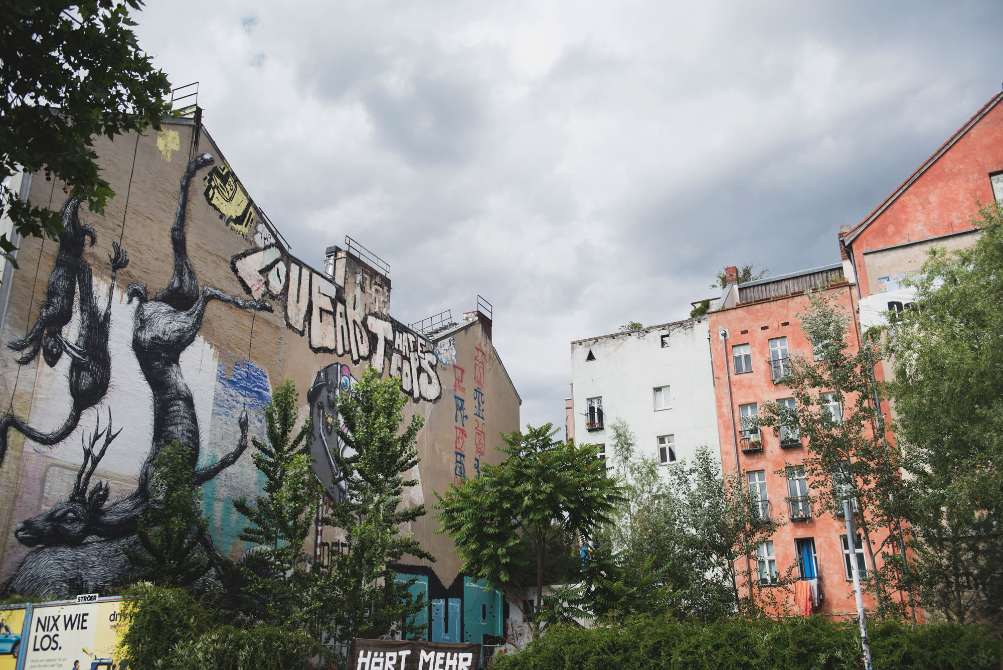 Our Tour of Berlins district of Kreuzberg
