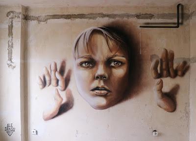 Graffiti workshops in Berlin taught by Ale Senso