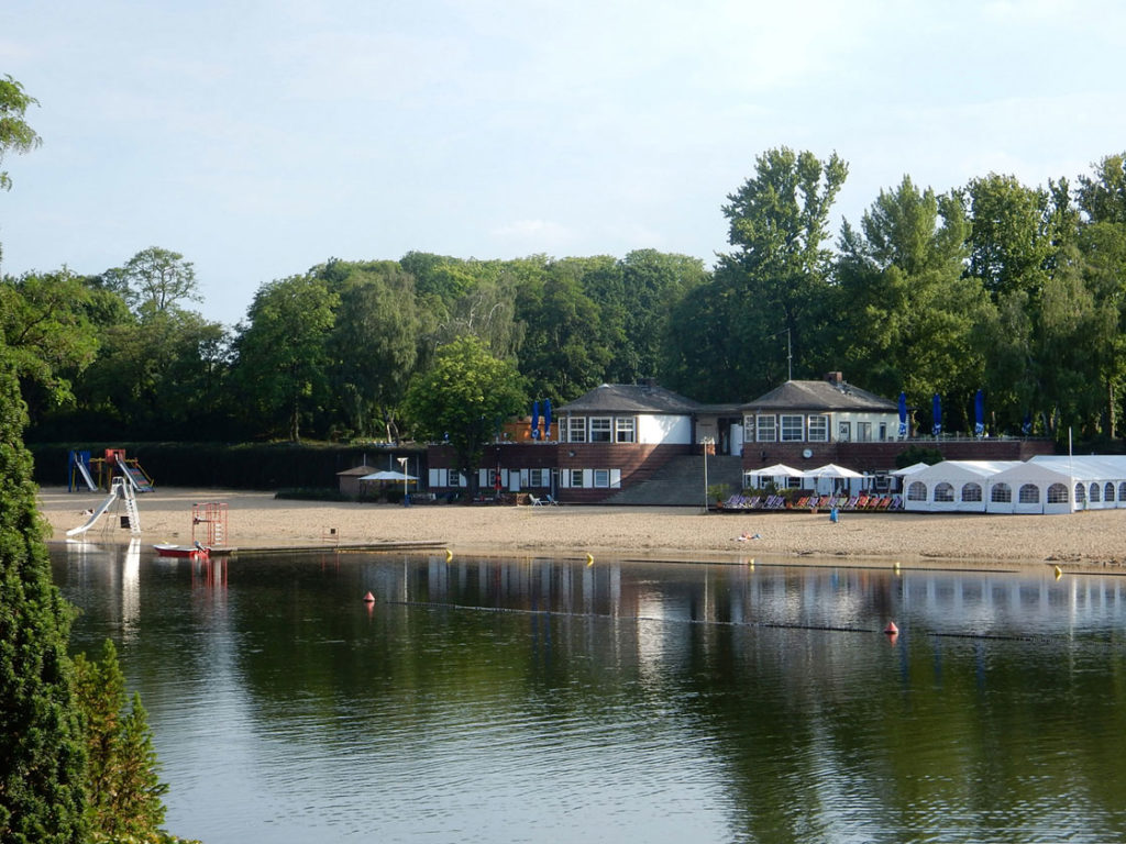 Wedding's lake plotzensee near to the infamous prison