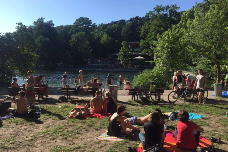 One month in Berlin: lake schlachtensee