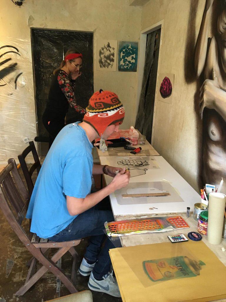 Our graffiti course