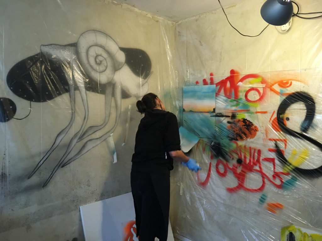 Our street art classes