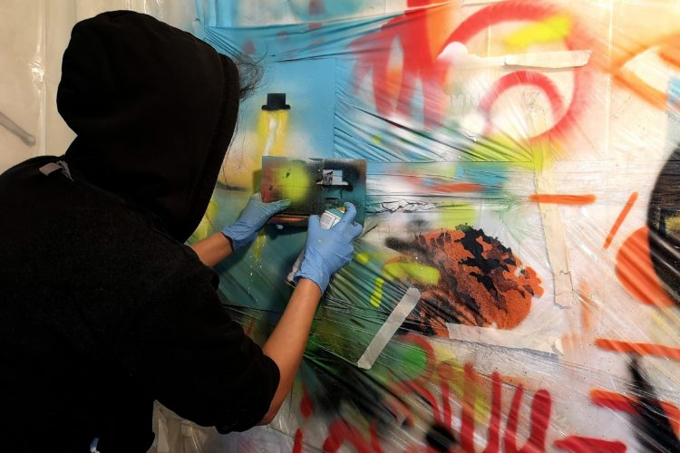 Our graffiti workshop
