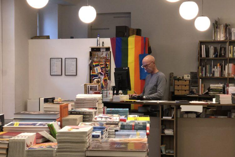 Prinz Eisenherz Buchhandlung gay book store Berlin