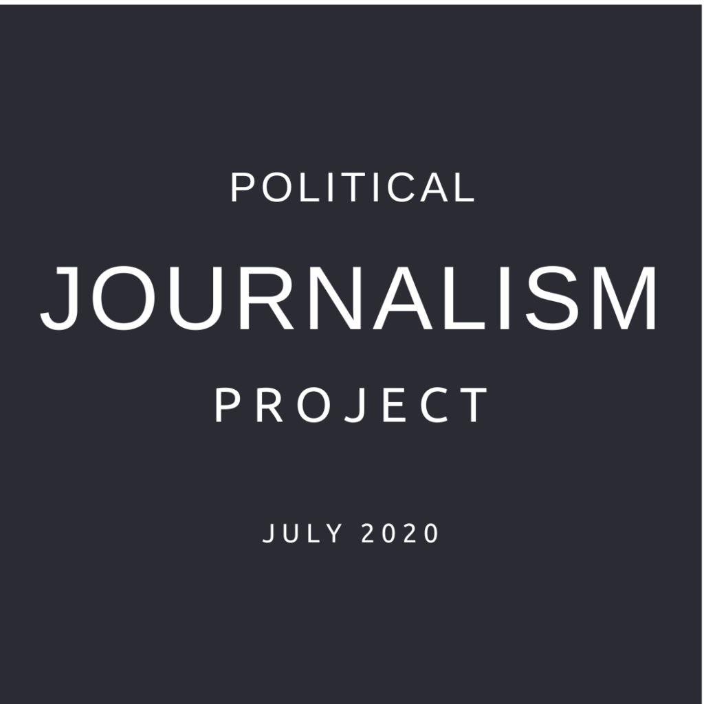 Political journalism course