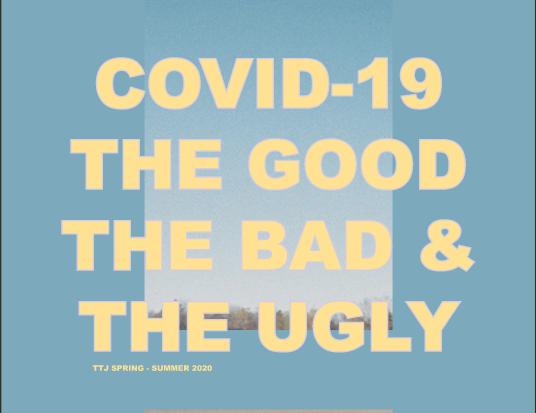 Coronavirus magazine front cover